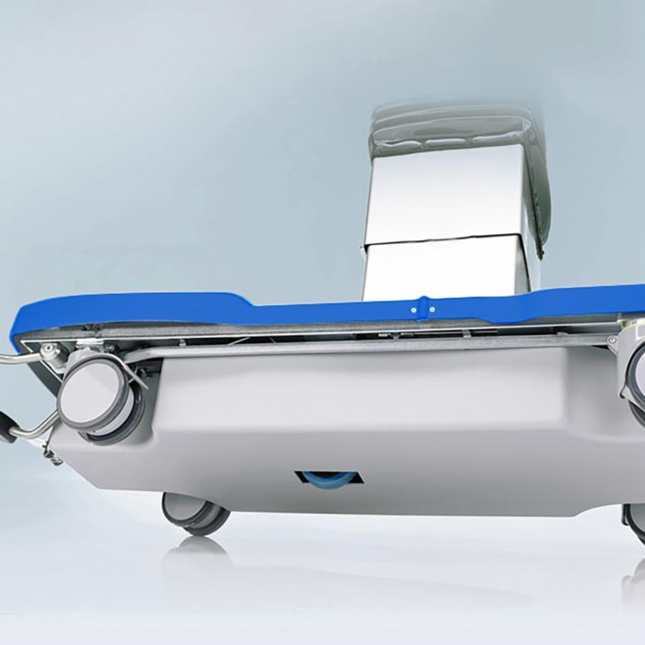 Brandon Medical Anteris Operating 5 wheel mobile base