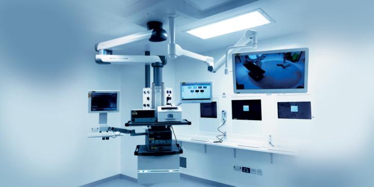 Symposia Entoli 4K Brandon Medical audio video for integrating operating theatre
