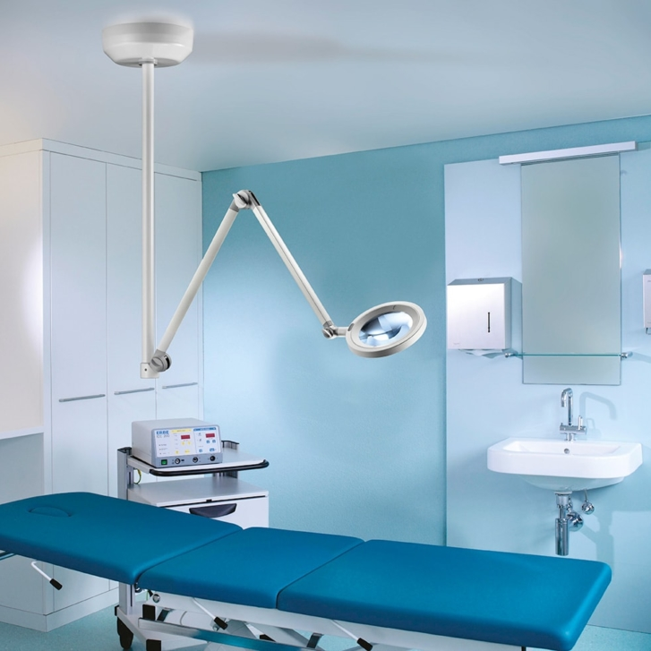 Optica Ceiling Mounted Examination Light