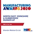 中小企业2020年亚军Make Uk Manufacturing awards - brandon Medical Co